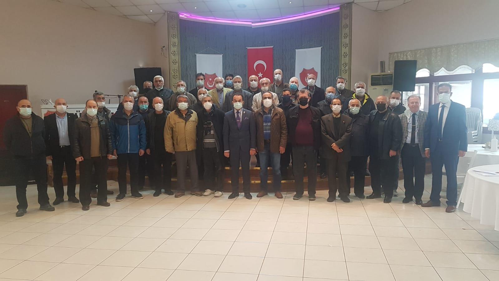 TEMAD BUCA ŞUBESİ 8'İNCİ OLAĞAN GENEL KURULU GERÇEKLEŞTİRİLDİ